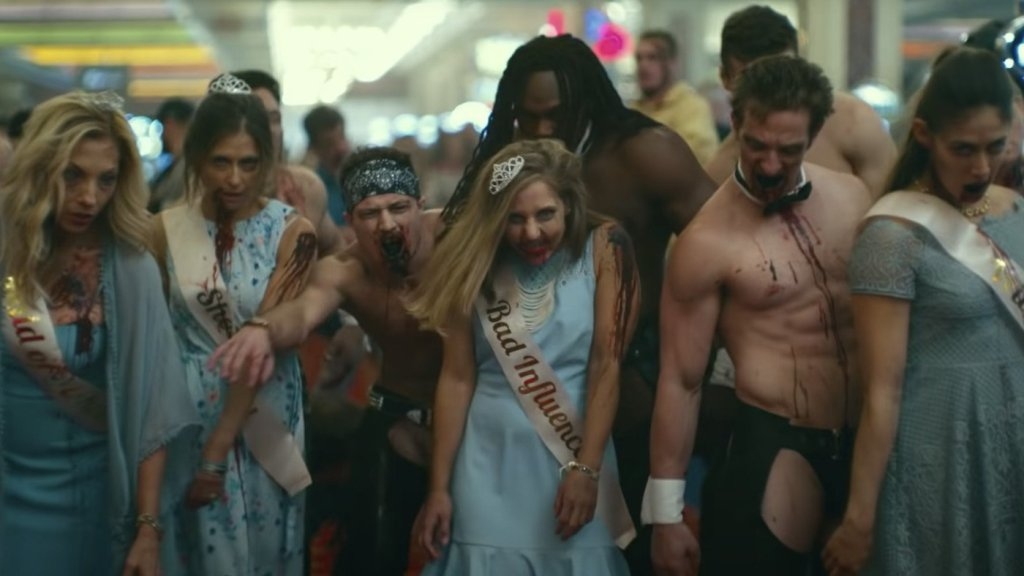 horde of zombies from beauty pageant