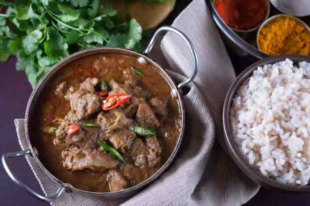 Easy and delicious spicy nadan beef curry