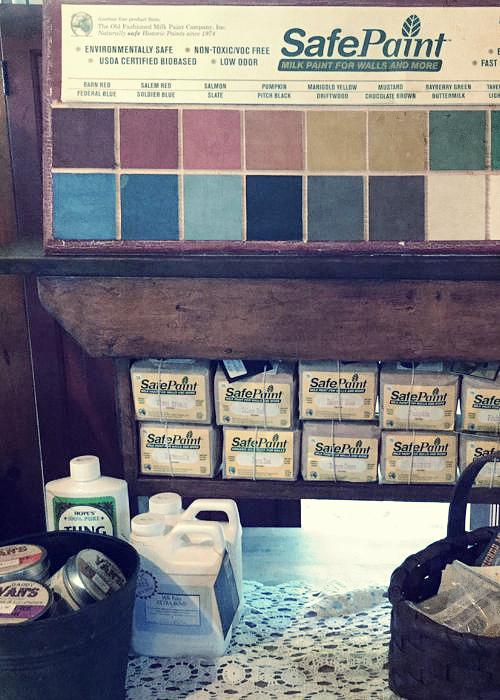 Safe Paint Milk Paint