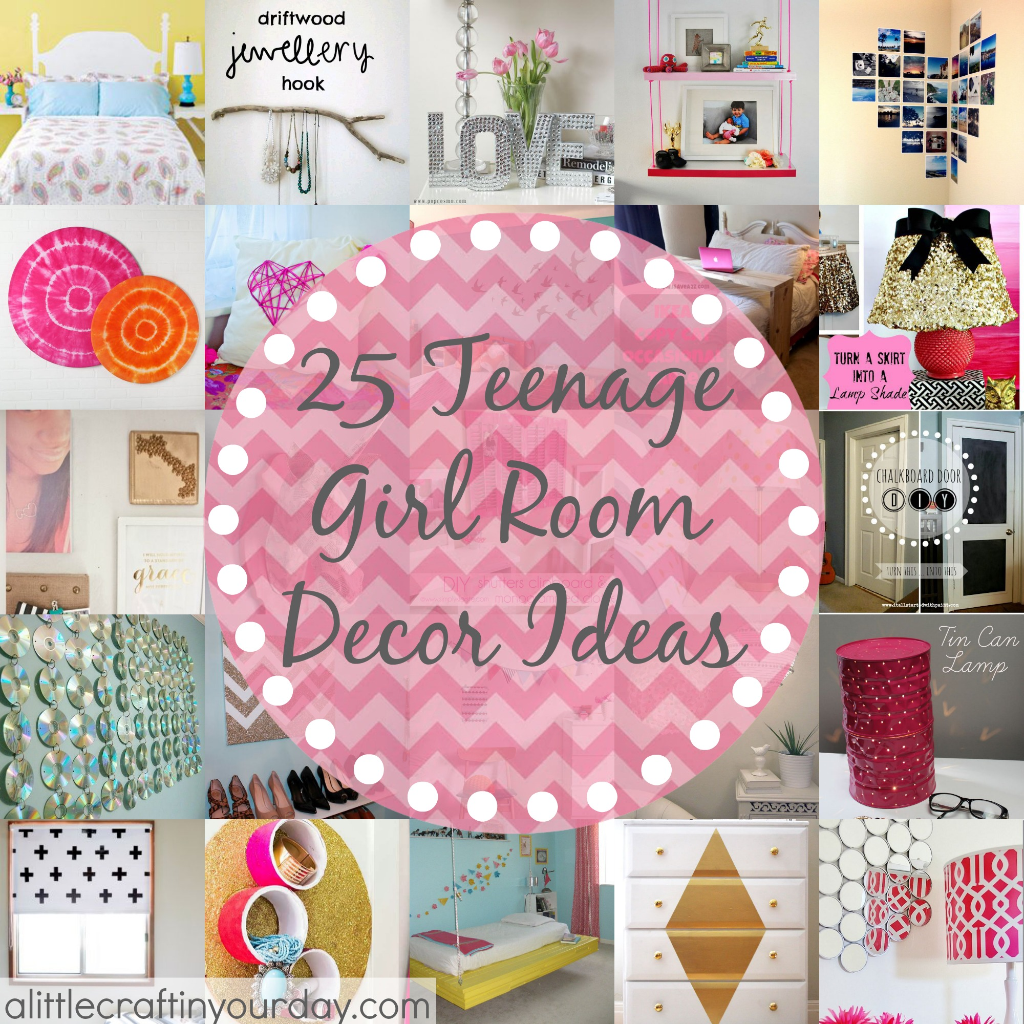 25 More Teenage Girl Room Decor Ideas - A Little Craft In ... on Beautiful:9Ekmjwucuyu= Girls Room Decoration  id=82103