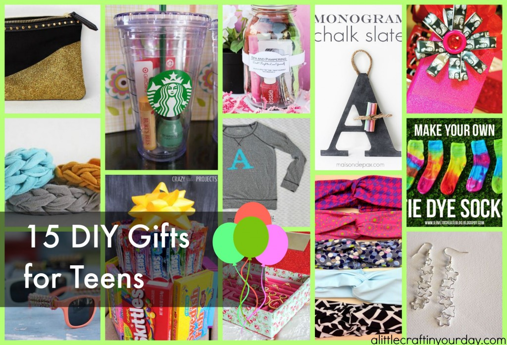 Diy Gifts For Teens A Little Craft In Your Daya Little