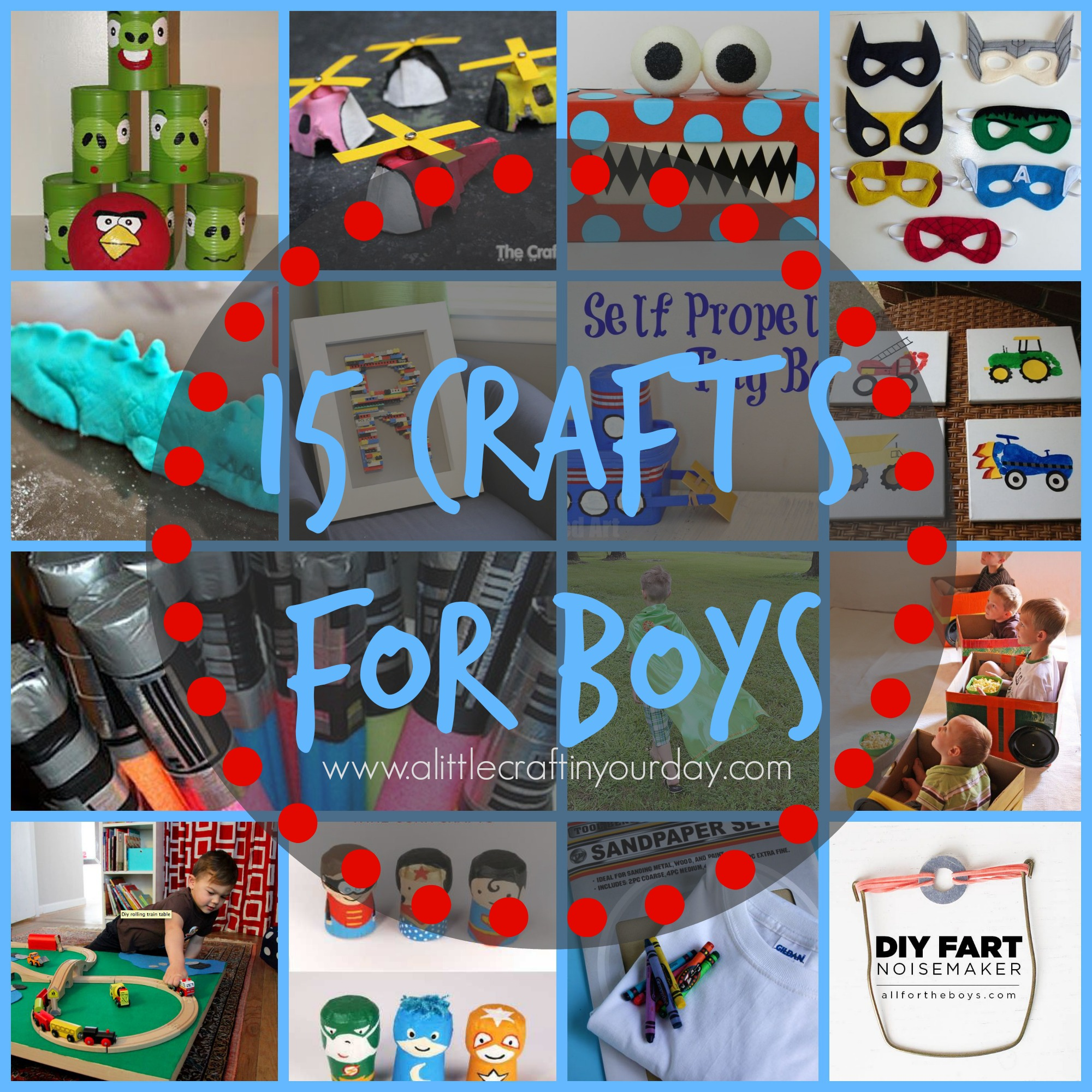 15 Crafts For Boys