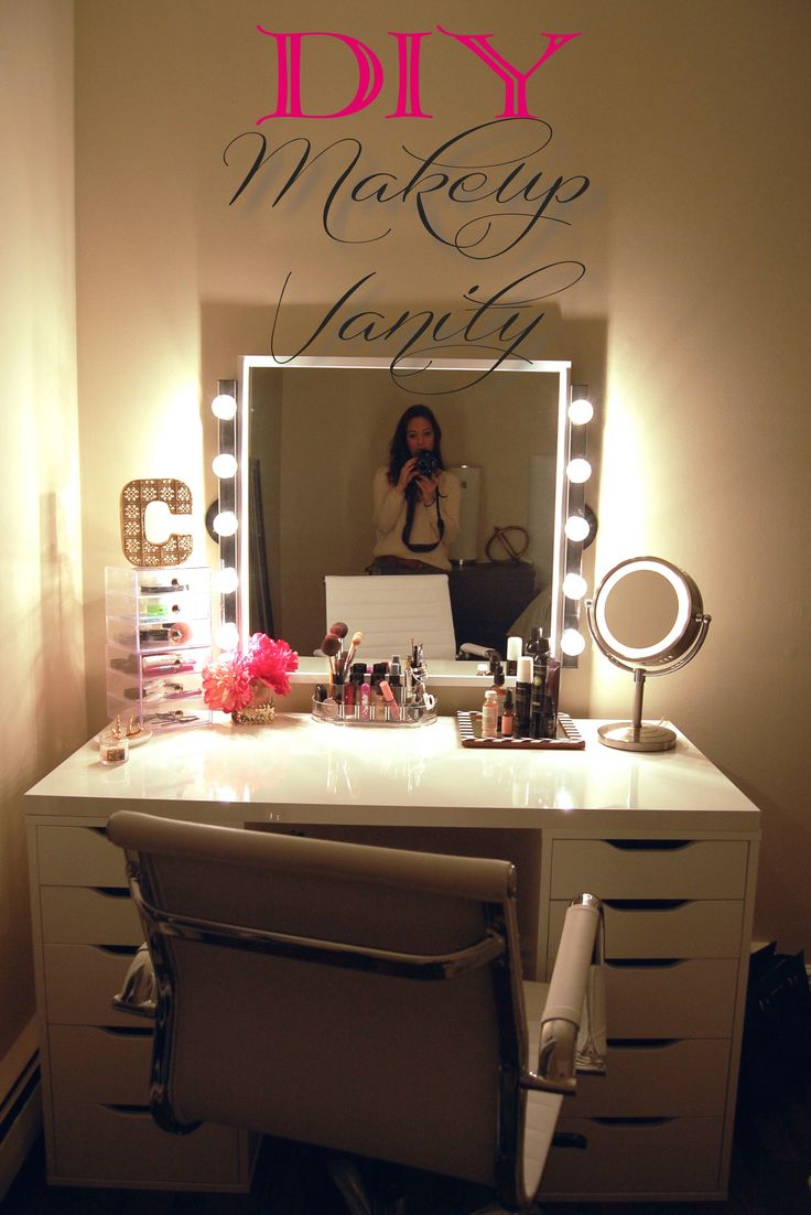 16 DIY Makeup Organization Ideas - A Little Craft In Your ... on Make Up Room  id=62987