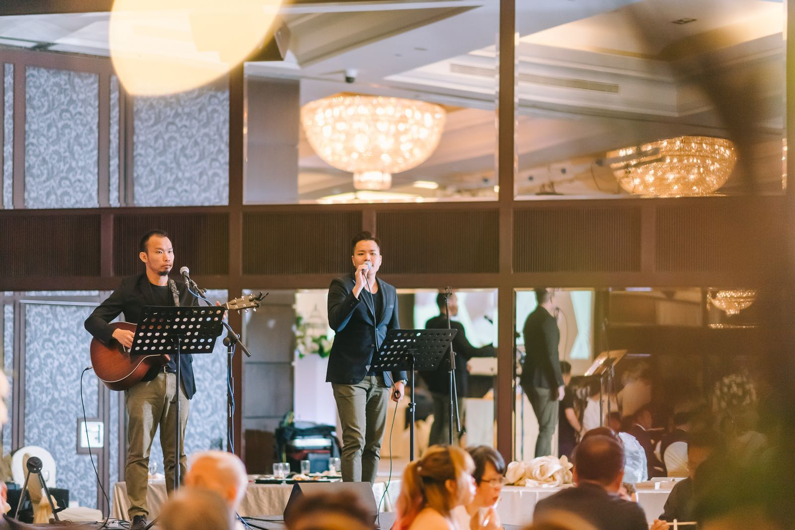Goodwood Park Hotel Singapore Wedding Live Band
