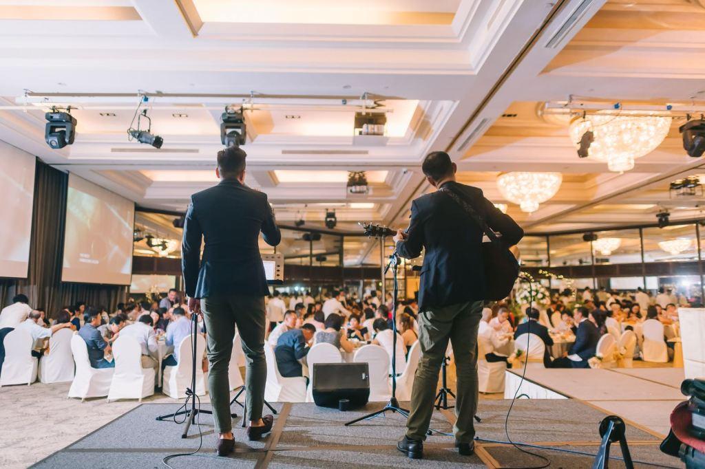 Goodwood Park Hotel Singapore Wedding Live Band
