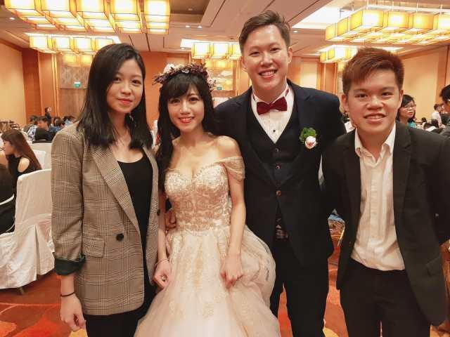 Marina Bay Sands Heliconia Junior Ballroom Wedding