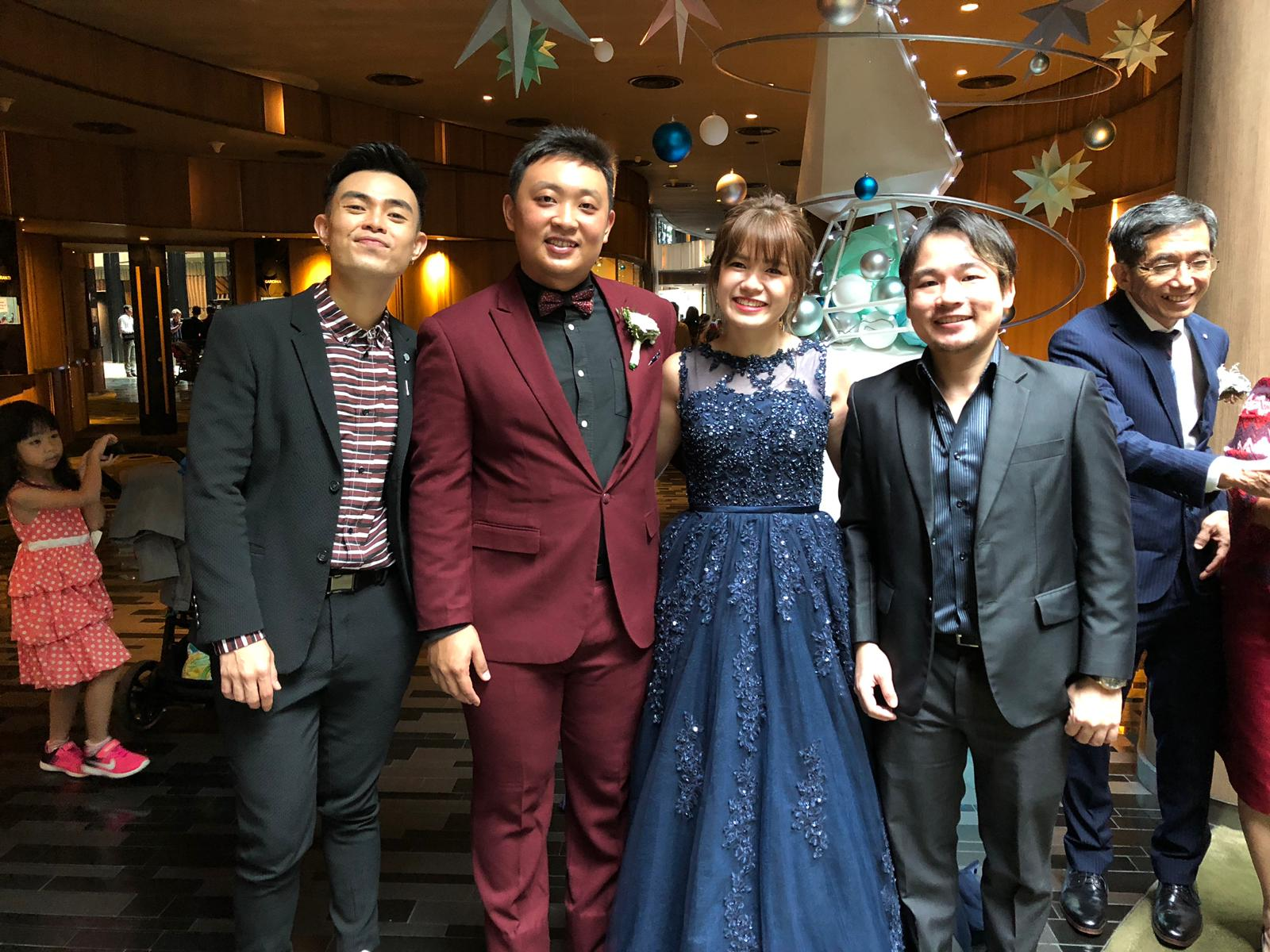 Gim Hock & Hui Chin Crowne Plaza Wedding Live Band Emcee MC