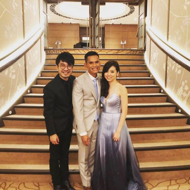 Fullerton Singapore Wedding Emcee MC Singer Live Band