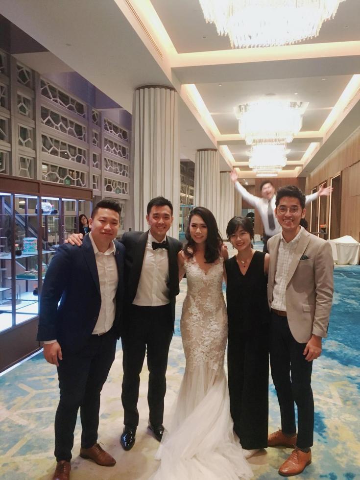 Pan Pacific Ballroom Wedding Live Band