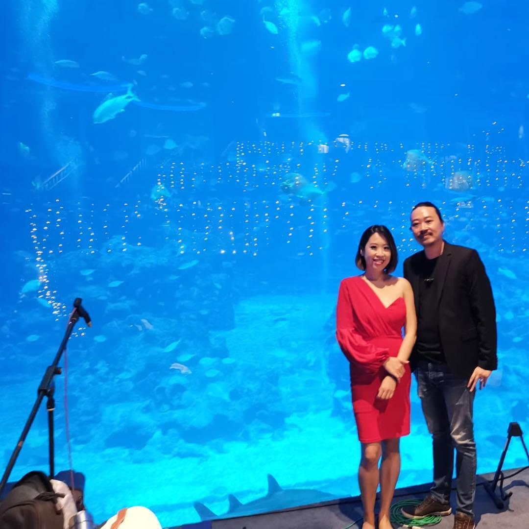 SEA Aquarium Wedding Live Band Music