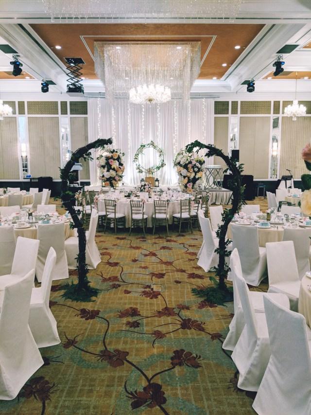 intercontinental bugis hotel singapore wedding ballroom