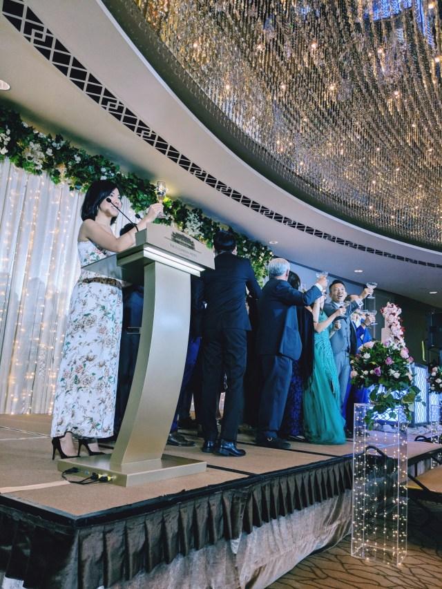 Fullerton Hotel Singapore Wedding Grand Ballroom