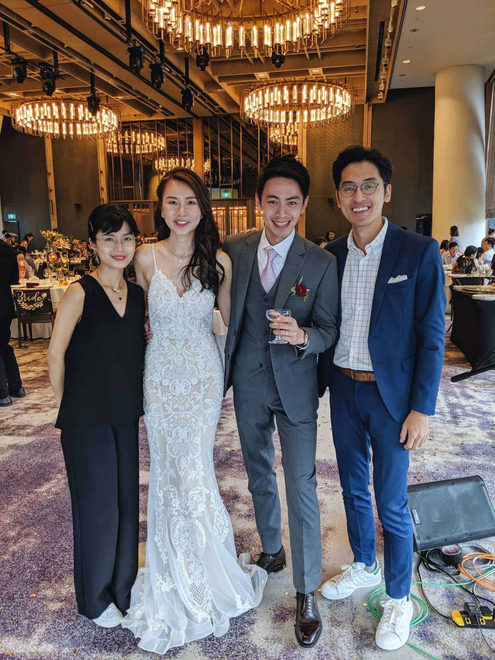 Andaz Singapore Wedding Live Band Singer Music Emcee Best