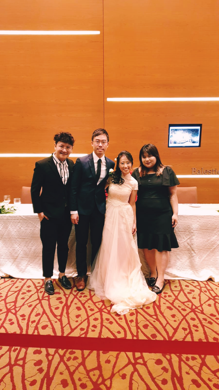 Ramada by Wyndham Singapore at Zhongshan Park Wedding