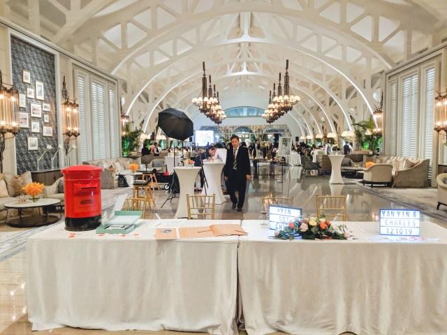 Clifford Pier Wedding Decor Ballroom