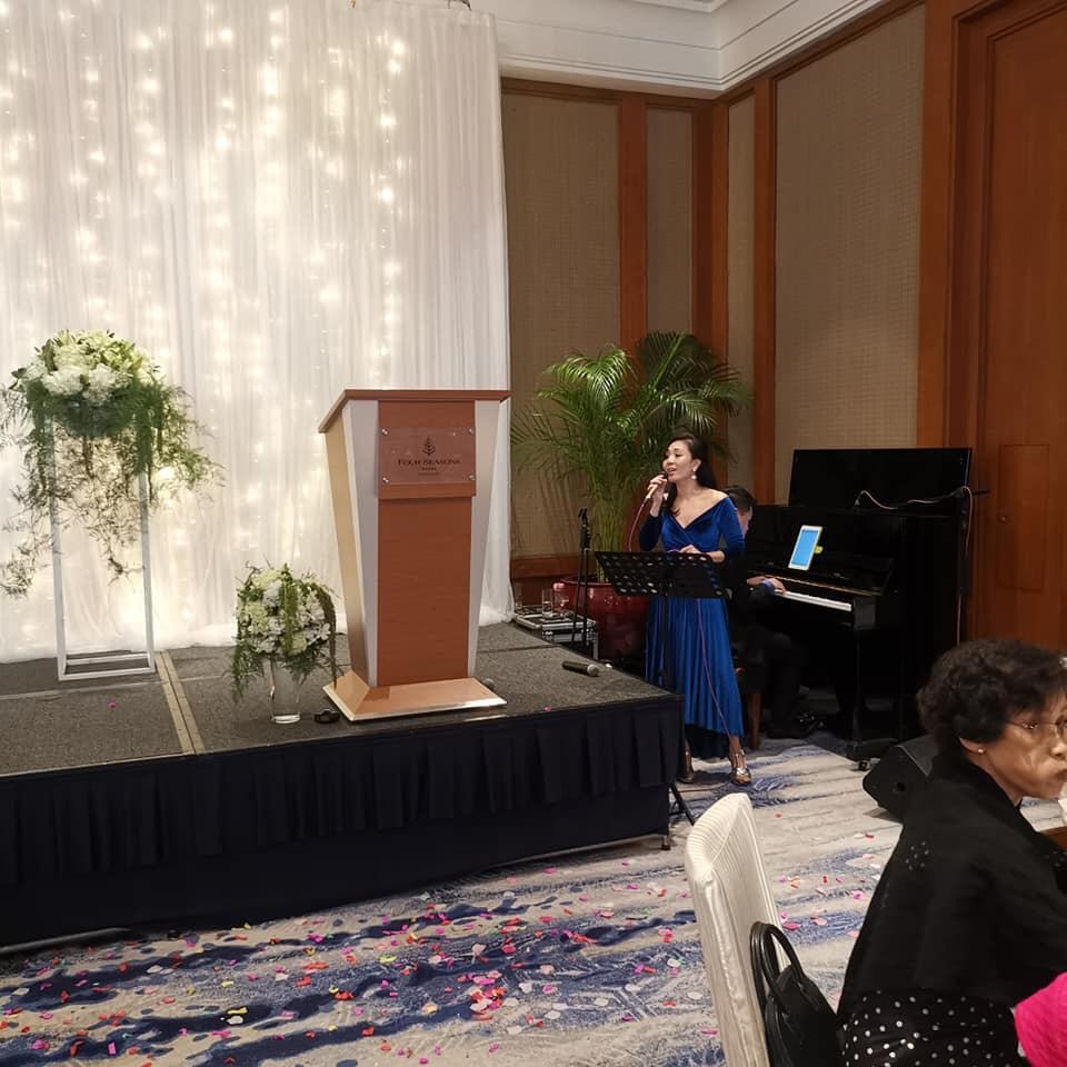 Four Seasons hotel crescent ballroom wedding