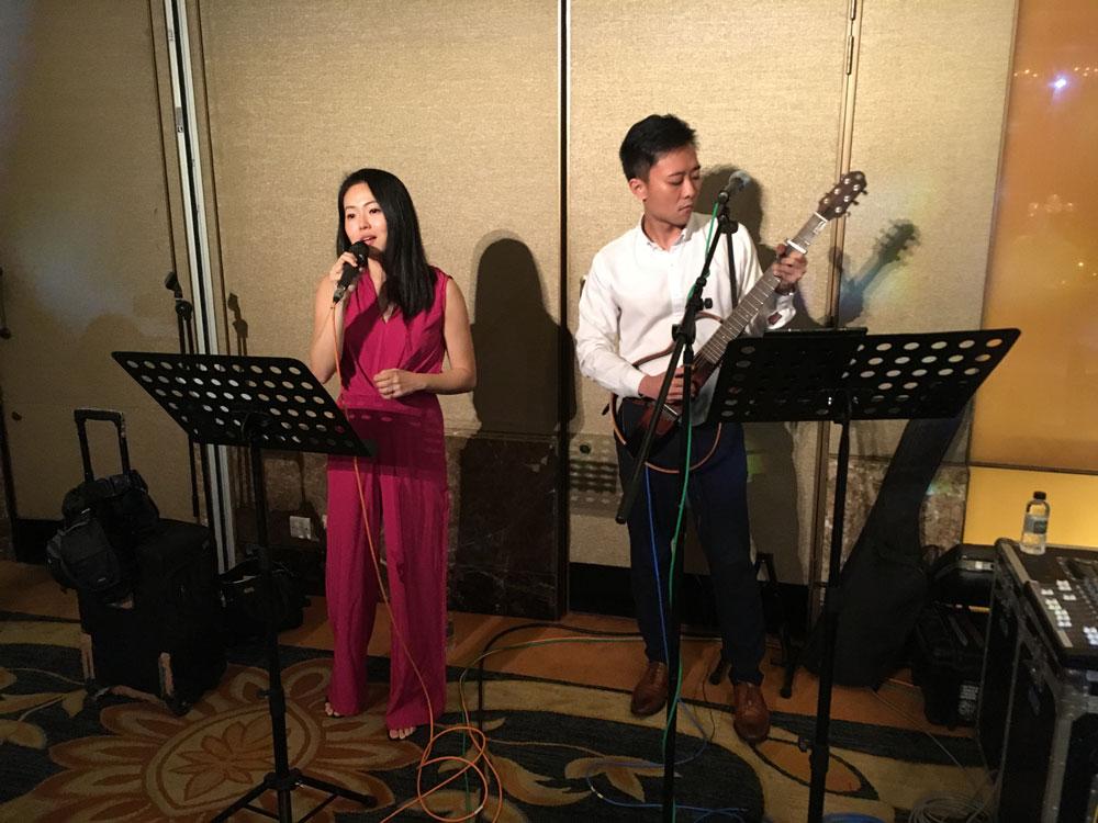Regent Hotel Royal Pavilion Ballroom Wedding Live Band Music