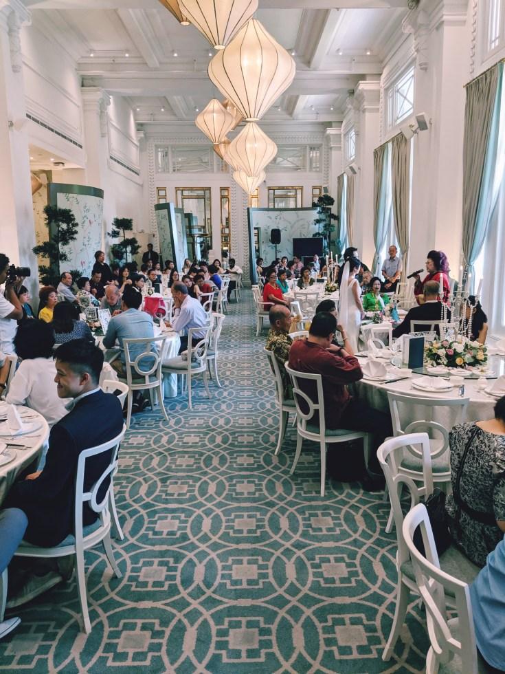 Jade restaurant wedding solemnisation