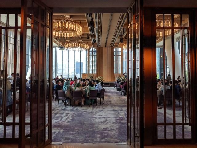 Andaz Singapore wedding ballroom