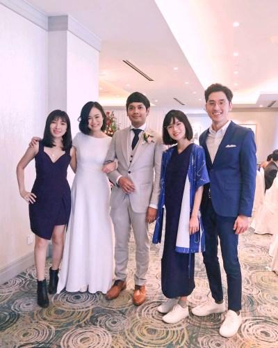 Mandarin Oriental Garden Suite Wedding Emcee Singer Live Band Music Emcee Bilingual Singer