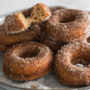 Apple Cider Doughnuts (baked)| A Little Food