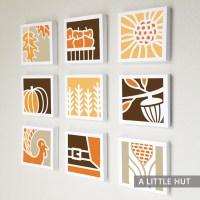 Fall paper quilt
