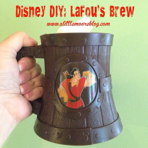 DIY Beauty and the Beast Inspired LaFou's Brew
