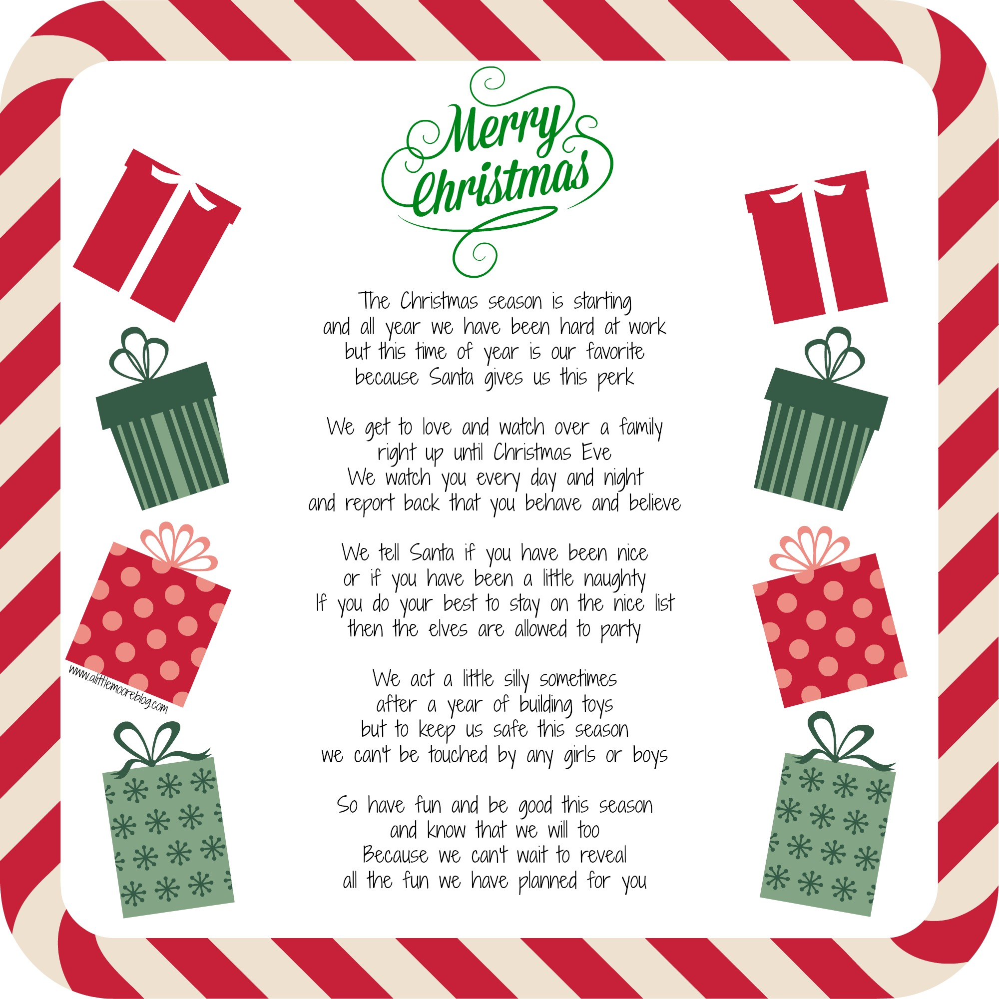 This is a photo of Elf on the Shelf Welcome Letter Printable throughout checking letter