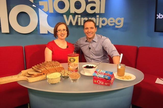 Susan Watson, Winnipeg Dietitian Global TV Interview