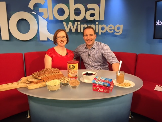 Susan Watson, Winnipeg Dietitian Global TV Interview