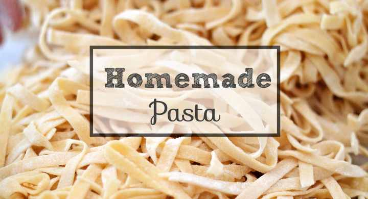 homemade pasta, Winnipeg dietitians, batch cooking