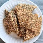 Seed Crackers, Homemade Crackers, Super Seed, Winnipeg Dietitians