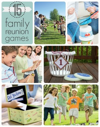 15 Fun Family Reunion Games 15 Family Reunion Games