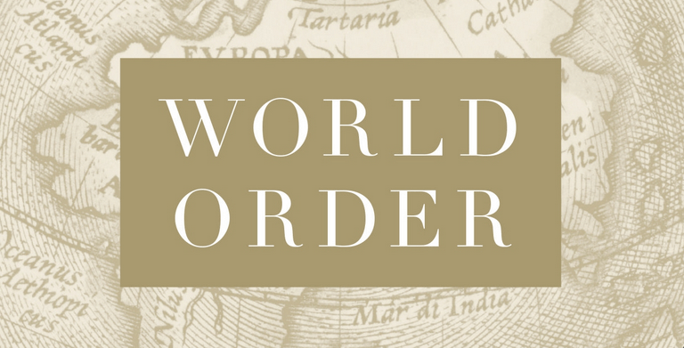 Book of the Month: Sept, 2014 – World Order