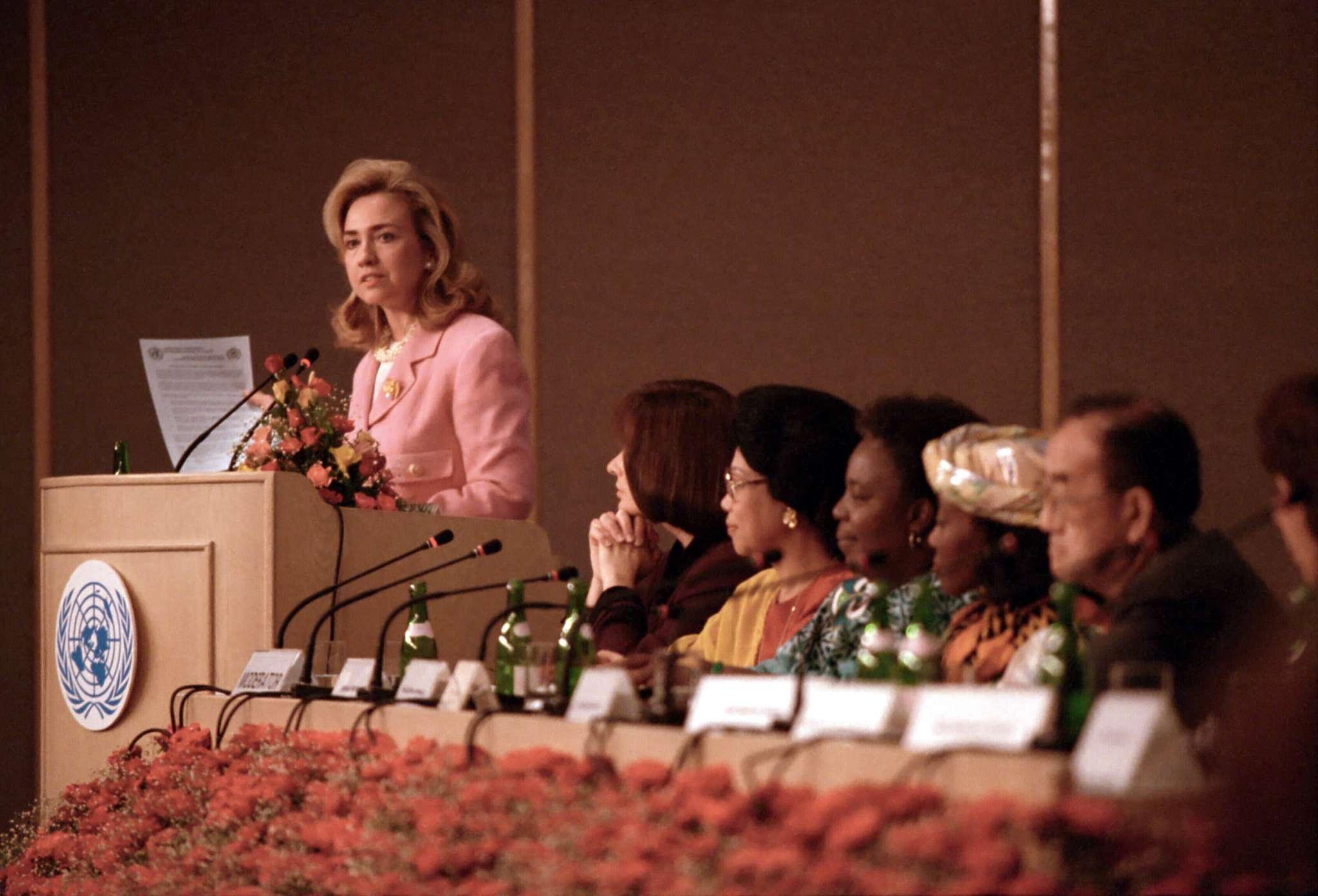 Speech to the Fourth Women's Conference, Beijing, 1995 – Hillary Clinton