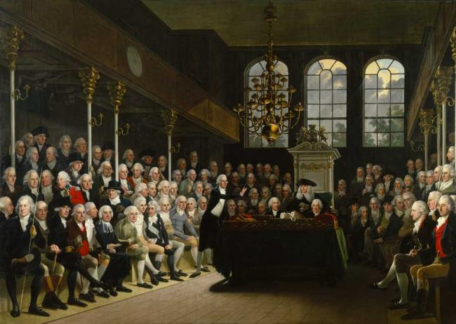 Abolition Speech, 1789 – William Wilberforce