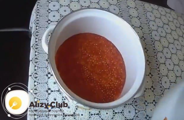 Vörös kaviár öt perc - recept