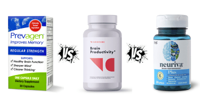 NooCube vs Prevagen vs Neuriva Plus Review by Alizyme