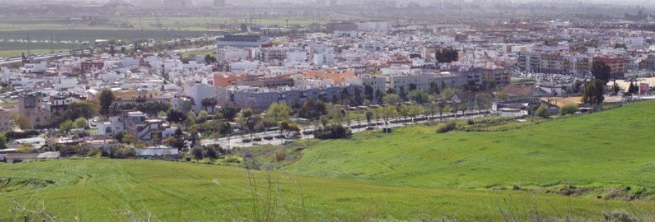 Imagen panorámica de Camas. Foto del Ayuntamiento de Camas.