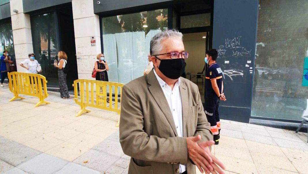 El alcalde de Bormujos, Francisco Molina. Imagen de Aljarafe Digital.