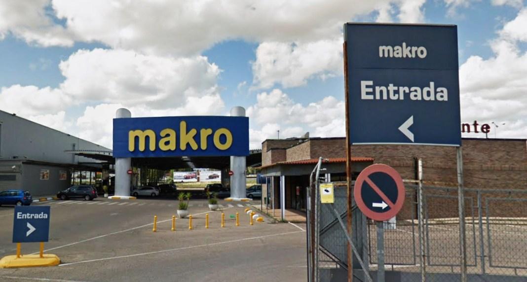 El centro de mayoristas de origen holandés pero propiedad alemana, Makro.