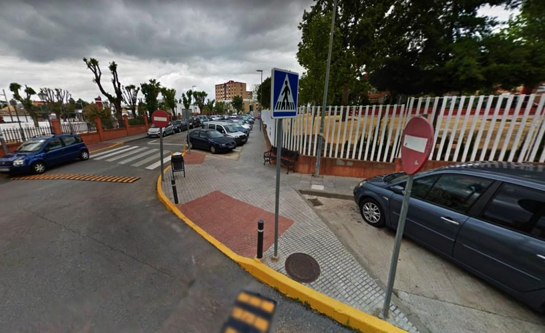 Avenida de la Diputación Provincial de Castilleja de la Cuesta.