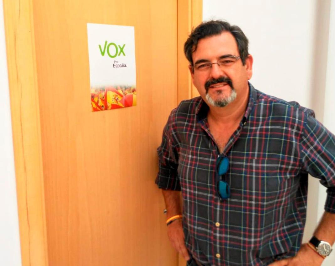 Manuel Pérez Paniagua, concejal de Vox de San Juan de Aznalfarache