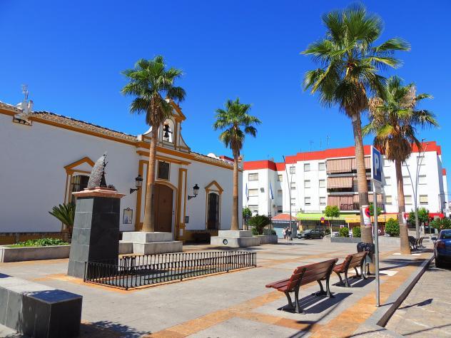 Plaza de Belén de la localidad aljarafeña de Pilas.