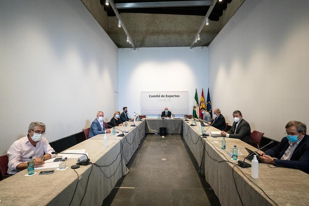 Reunión del comité de expertos reunido hoy.