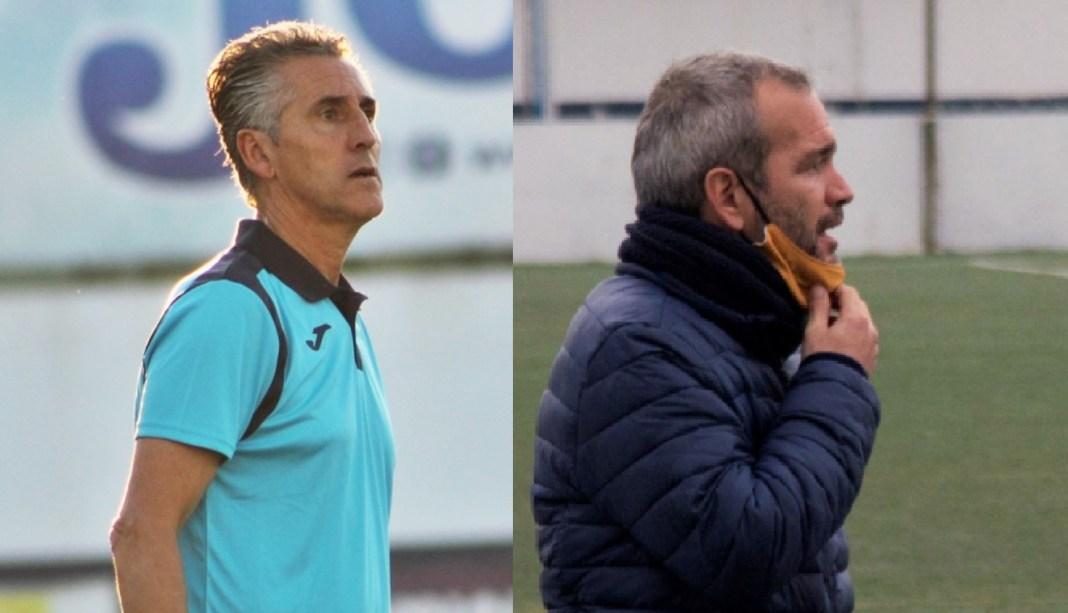 Alejandro Ceballos, izquierda; Pablo Galán, derecha.