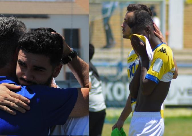 Imagenes del Castilleja CF y del Coria CF.