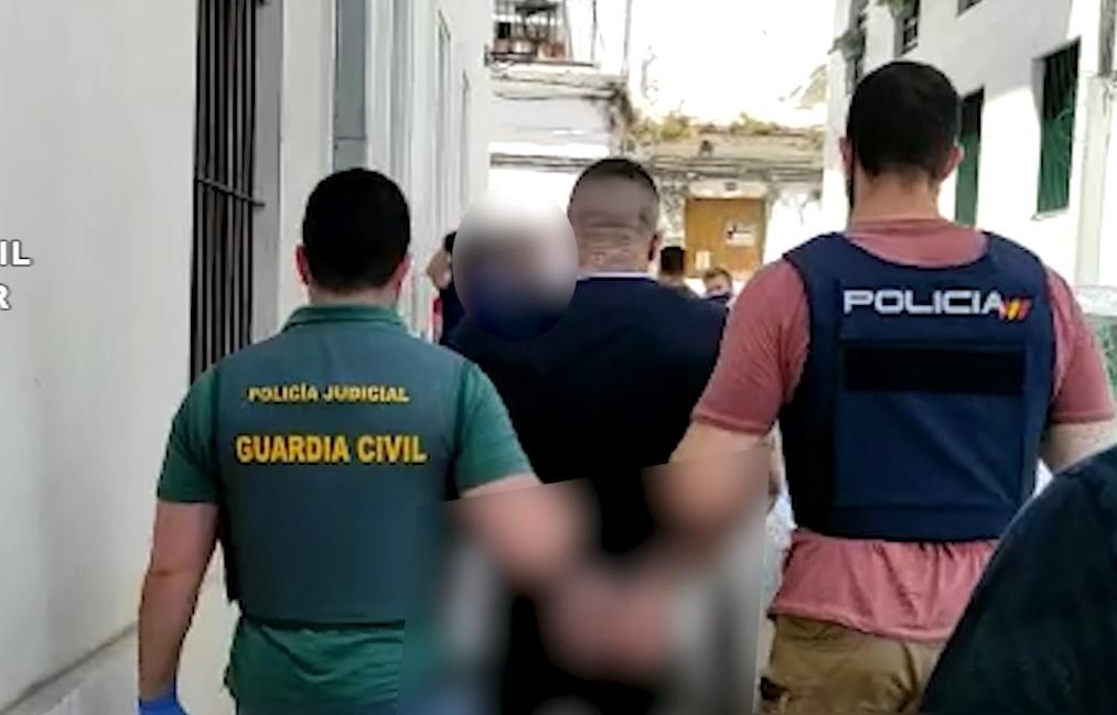 Detención en el marco de la Operación Molucas.