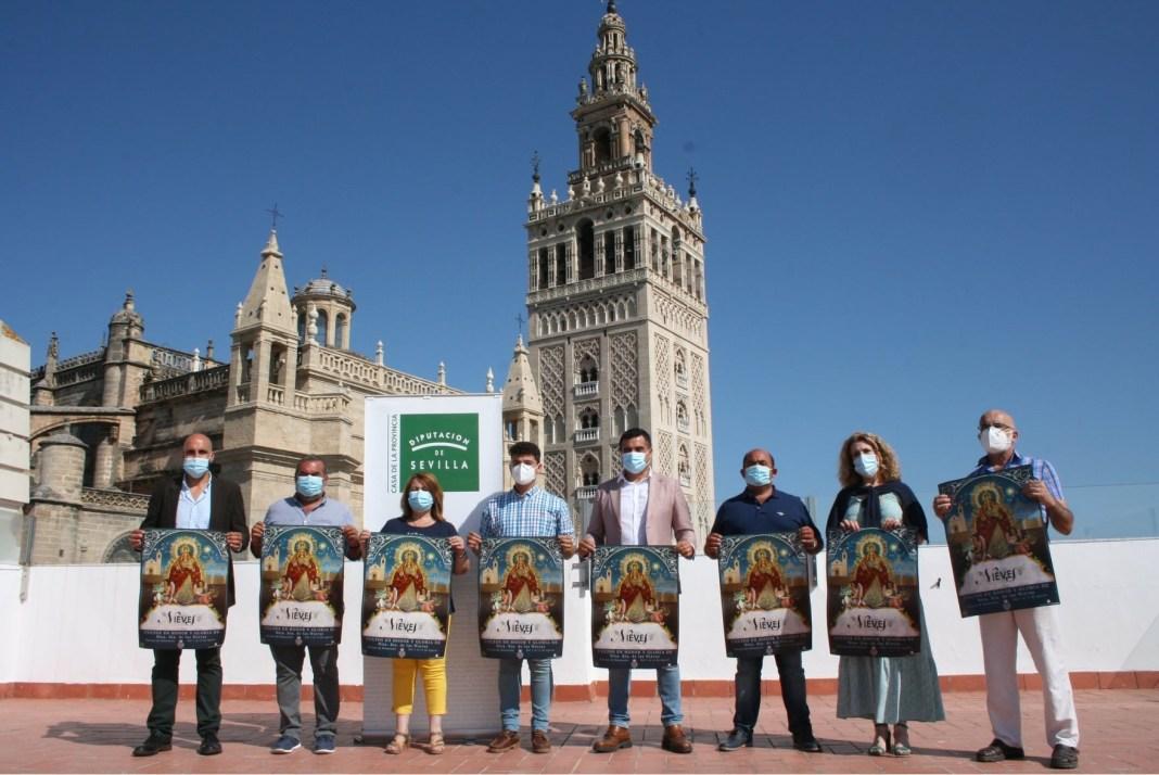 Presentación de las Fiestas Patronales del municipio en Honor de la Virgen de Las Nieves
