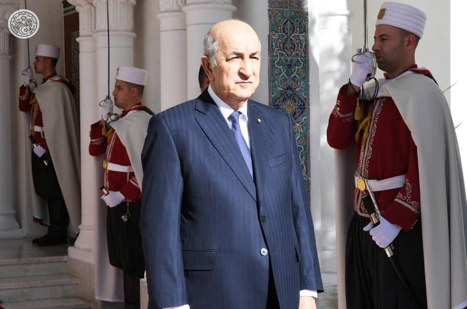 رئيس الجمهورية عبد المجيد تبون